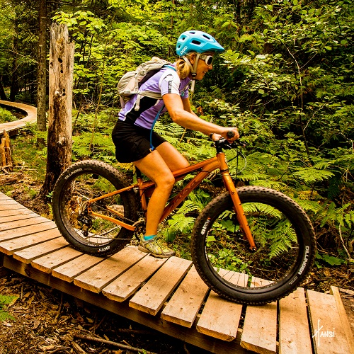 Guided Michigan Mountain Biking Tours, Copper Harbor