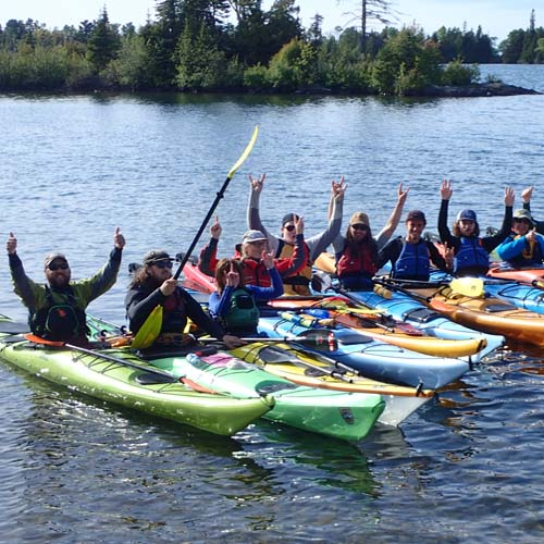 Copper Harbor Kayak Rentals, Lake Superior