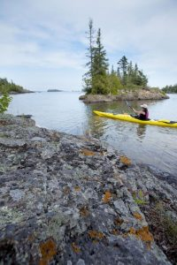 Sea Kayaking in Isle Royale: Eco-Tourism in Michigan