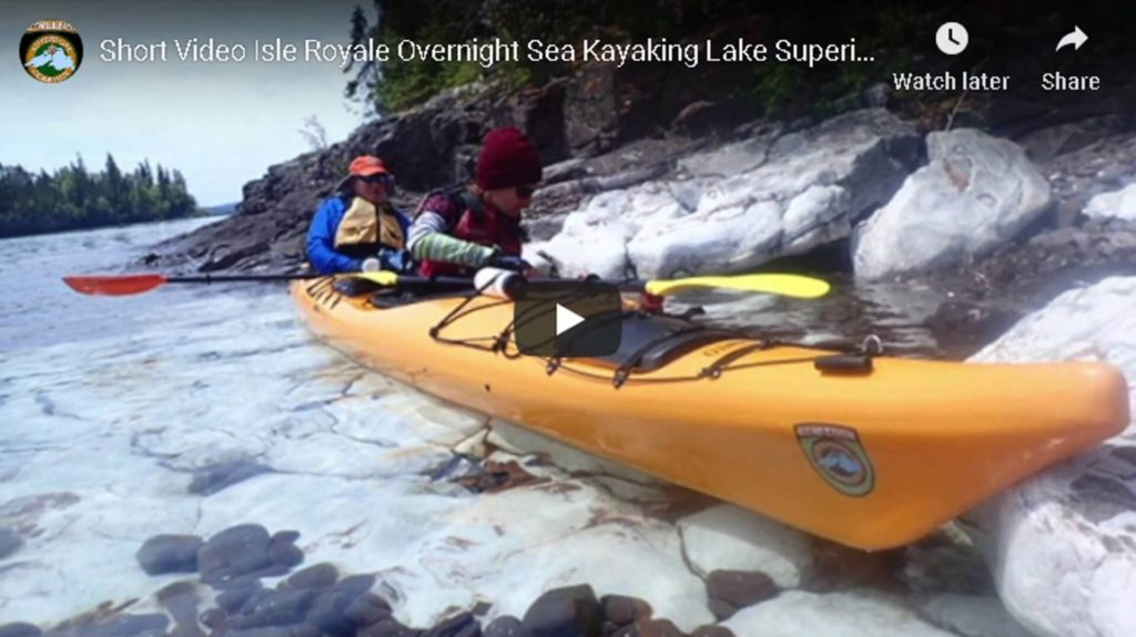Short Video Isle Royale Overnight Sea Kayaking Lake Superior Guided Tour